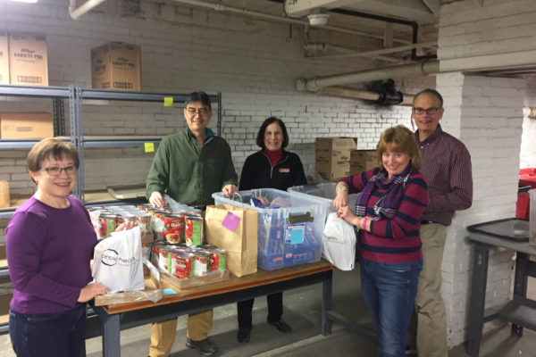 Nobis Group - Food Bank Volunteers