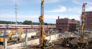 MBTA Commuter Rail Parking Garage Development